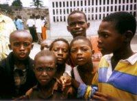 Jugendliche im Kongo