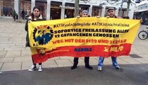 Solidaritätsaktion in Kassel