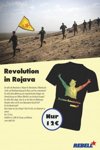Werbung-Rojava-T-Shirt