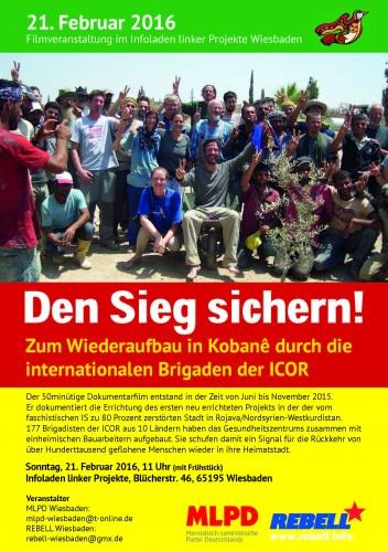 Kobane Film Wiesbaden 1