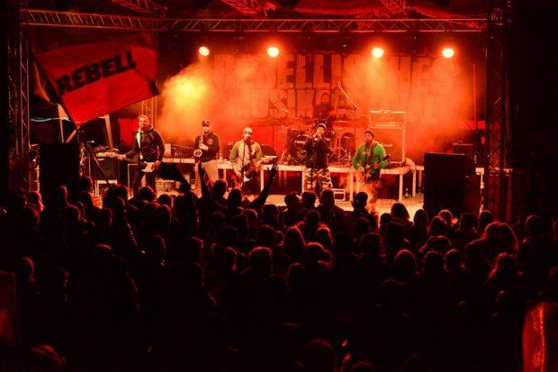 rebellisches Musikfestival talco 2