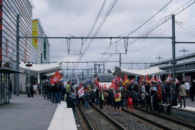 Frankreich Streik 2016 -1