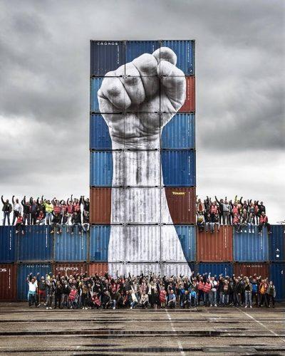 Hafenarbeiter Le Havre