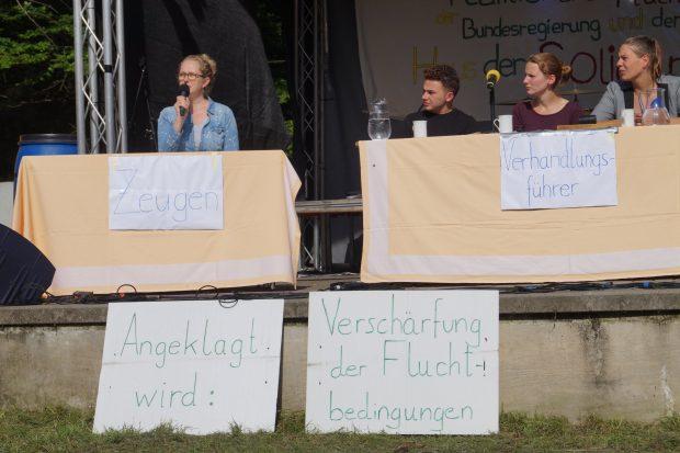 Tribunal gegen reaktionäre Flüchtlingspolitik